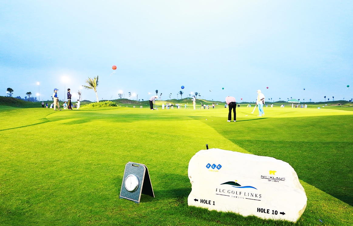 sân golf 10 lỗ flc sam son golf link