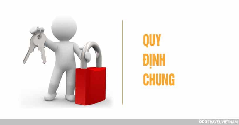 Quy định chung ODG Travel Vietnam