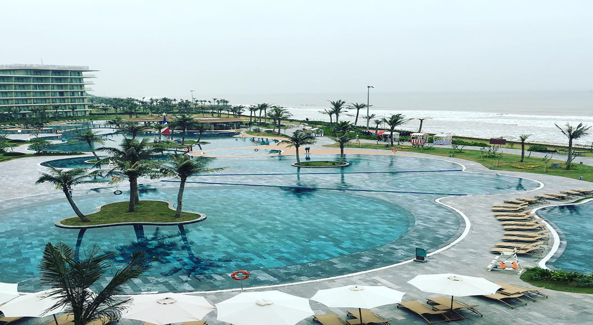 khu resort FLC Sầm Sơn
