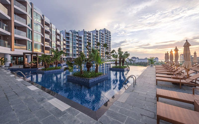 BỂ BƠI FLC GRAND HOTEL SAM SON THANH HOA