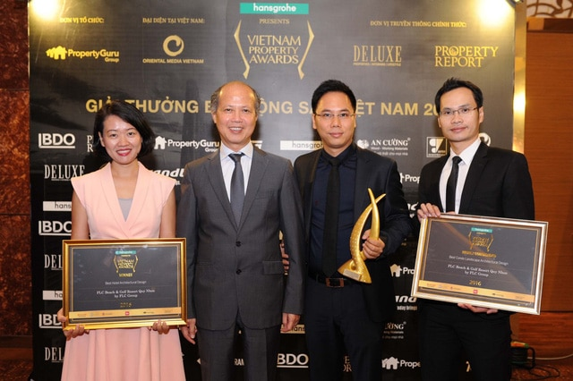 Ông Nguyễn Trần Nam – Nguyên Thứ trưởng Bộ Xây dựng, Chủ tịch Hiệp hội BĐS Việt Nam chúc mừng Tập đoàn FLC
