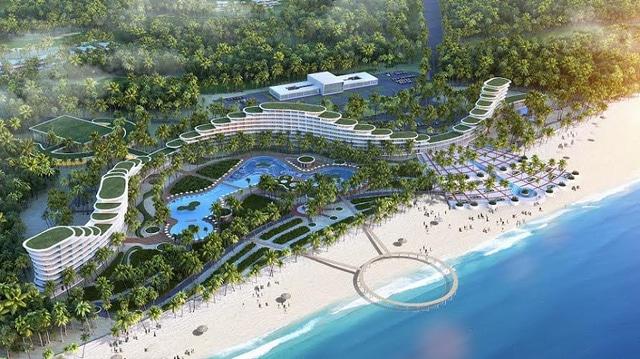 Kiến trúc độc đáo của khách sạn FLC Luxury Hotel Quy Nhon