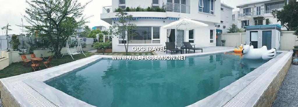 Biệt thự FLC Sầm Sơn có bể bơi