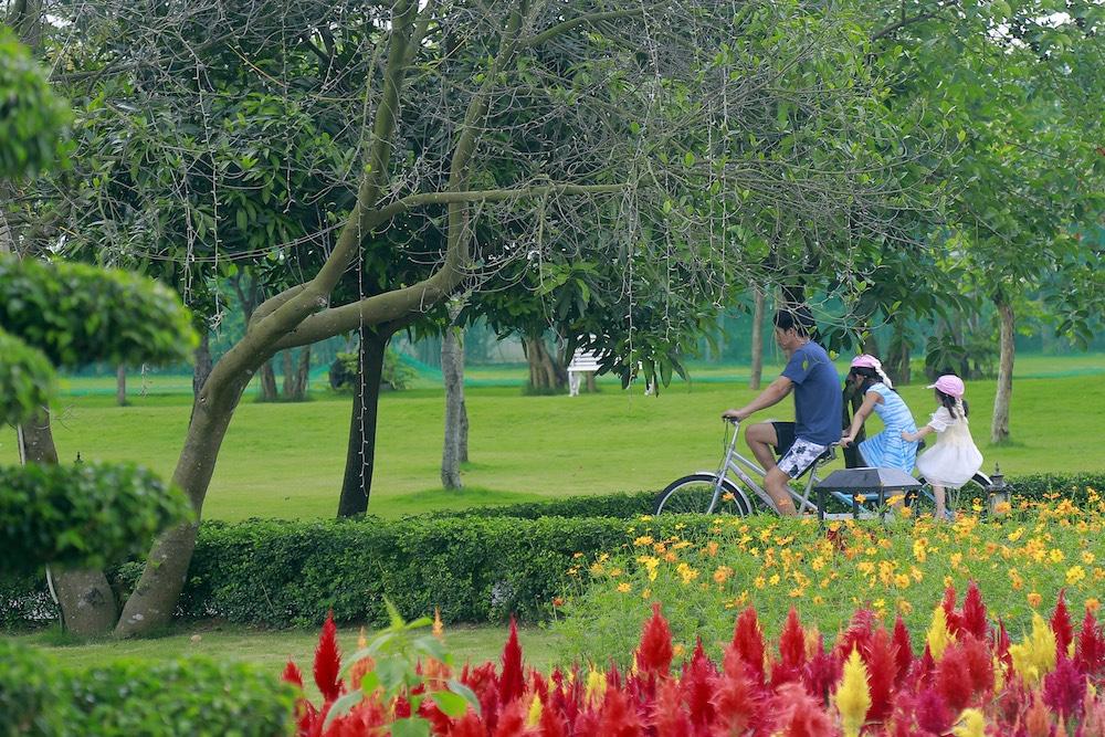 đạp xe tại flc vĩnh phúc