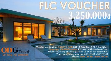 """Ở khách sạn 5 sao """"giá rẻ"""" với voucher FLC Sầm Sơn 3 ngày 2 đêm"""