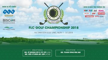 Khởi đầu năm mới với giải FLC Golf Championship 2018