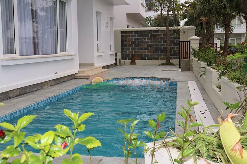 cho thuê biệt thự flc sầm sơn có bể bơi