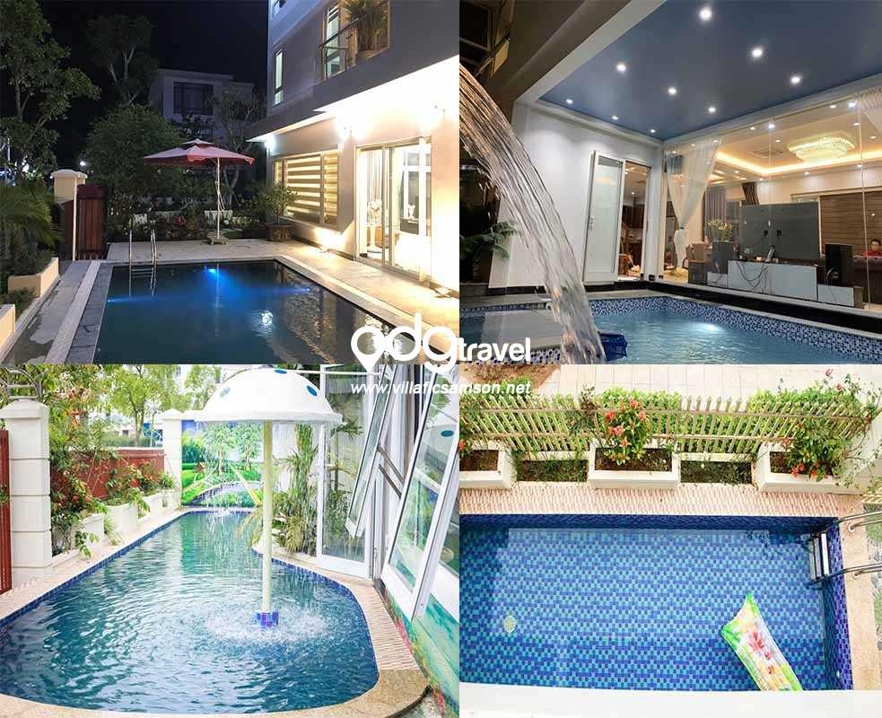 bể bơi villa flc sầm sơn