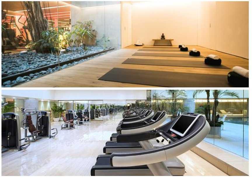 Khu tập Gym & Yoga
